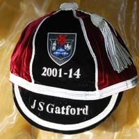 Taunton Cap before mounting